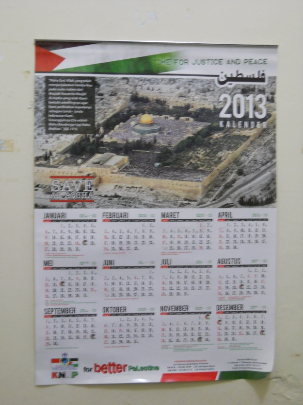 my room's calendar